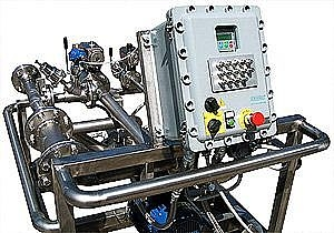 Solvent Moving dosing system