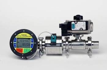 Batch control group with KPO AISI 316 and pneumatic valve